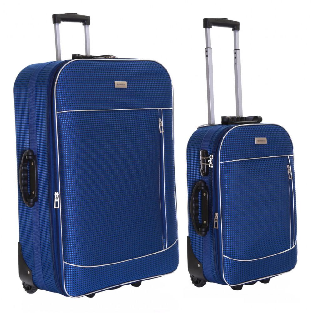 Slimbridge Rennes Set of 2 Expandable Suitcases, Navy