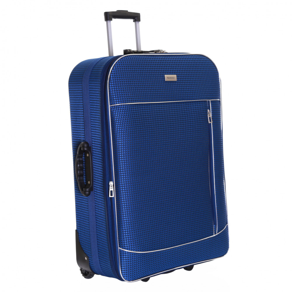 Slimbridge Rennes Large Expandable Suitcase, Navy