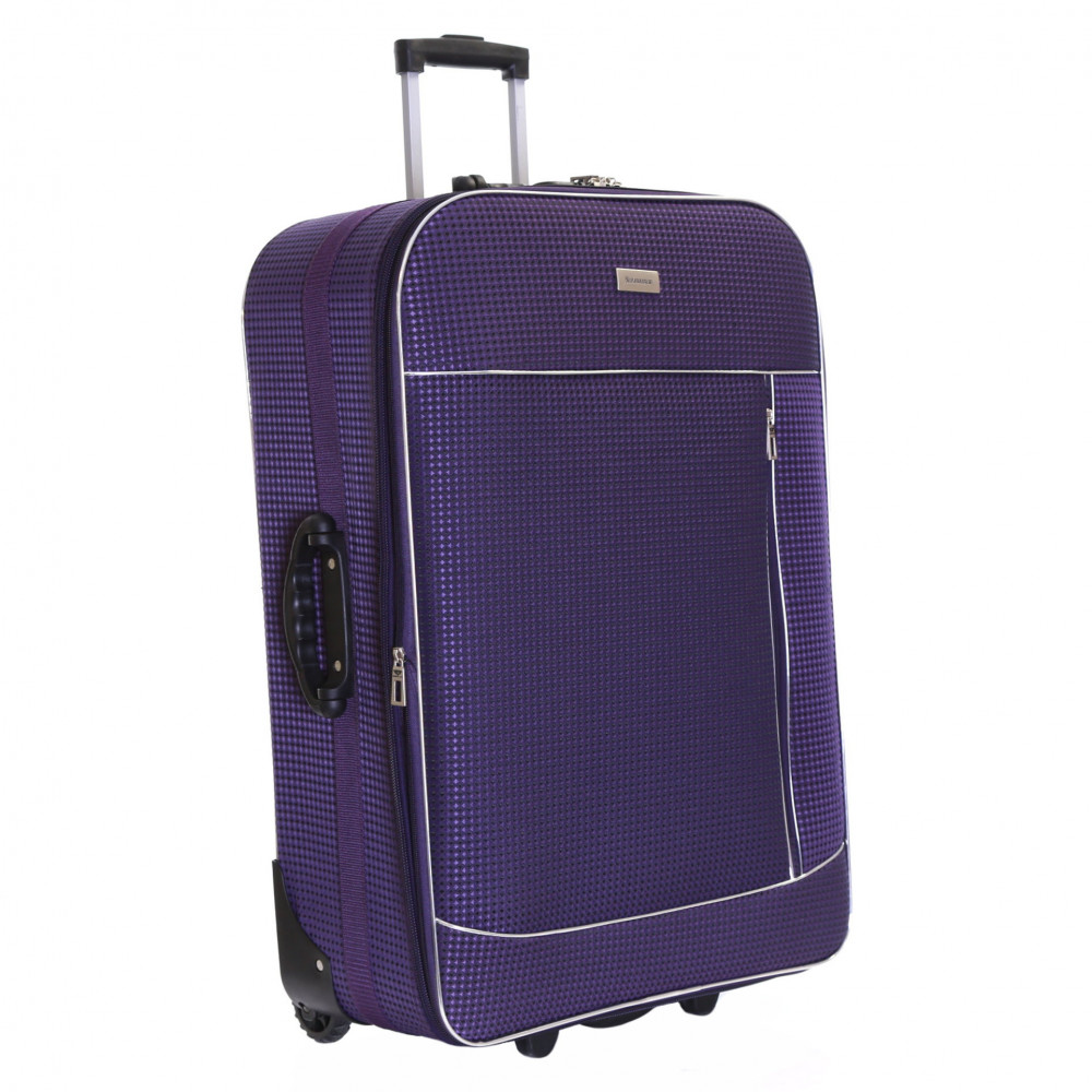 Slimbridge Rennes Large Expandable Suitcase, Plum