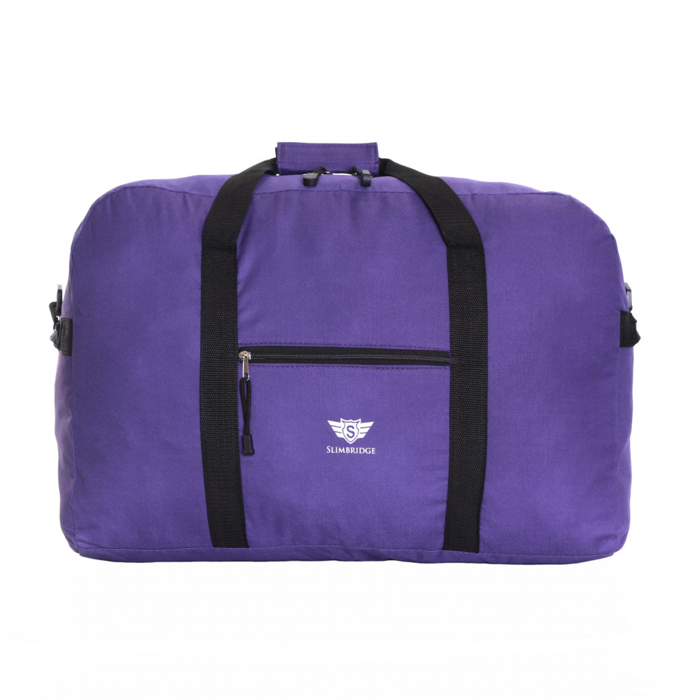 Slimbridge Tarbet 55 x 40 x 20 Cabin Approved Luggage Bag, Purple