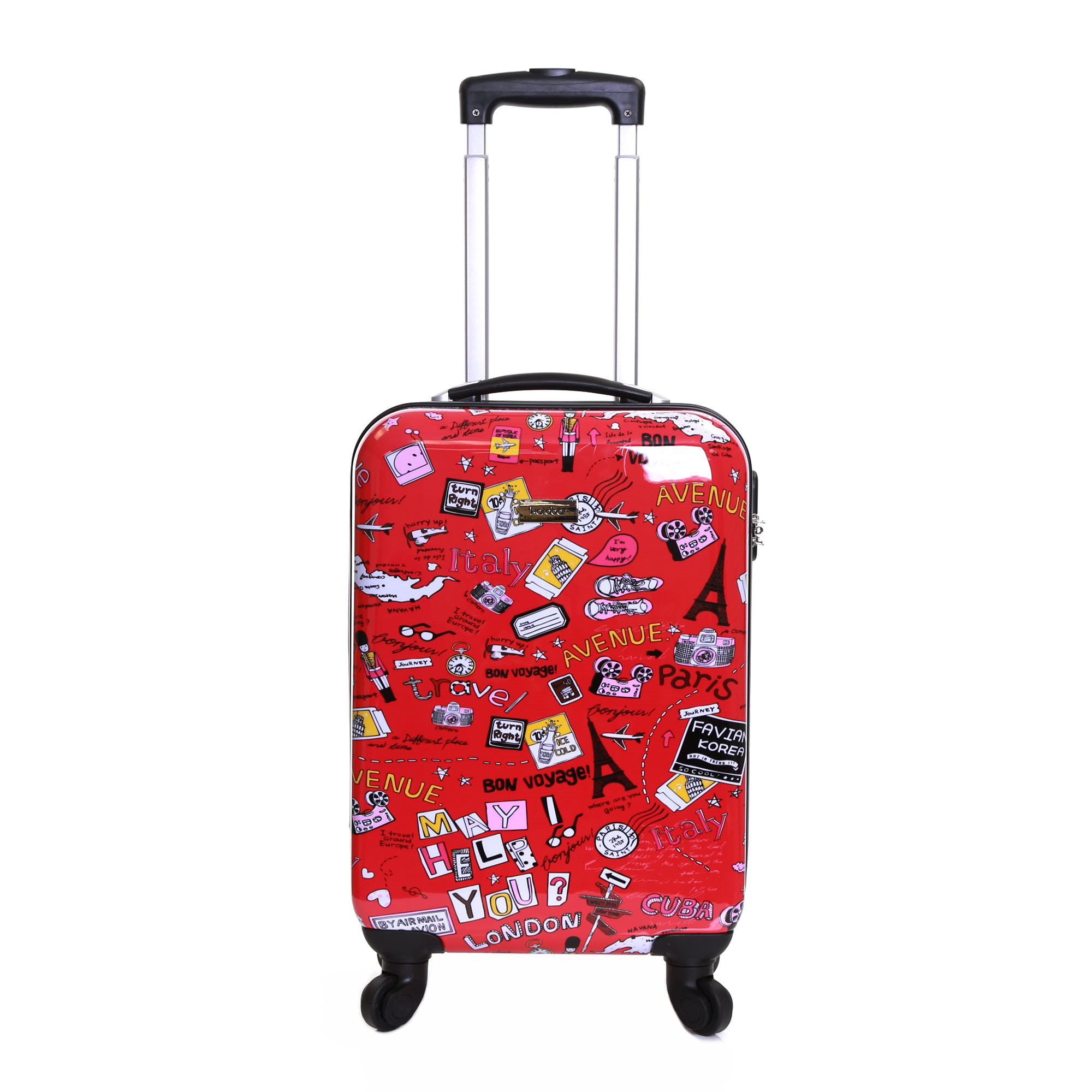 Dewberry 55 cm Hard Suitcase